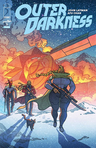 OUTER DARKNESS #5 (MR) - Packrat Comics