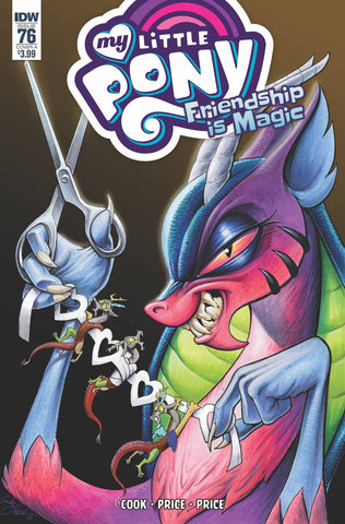 MY LITTLE PONY FRIENDSHIP IS MAGIC #76 CVR A PRICE (C: 1-0-0 - Packrat Comics