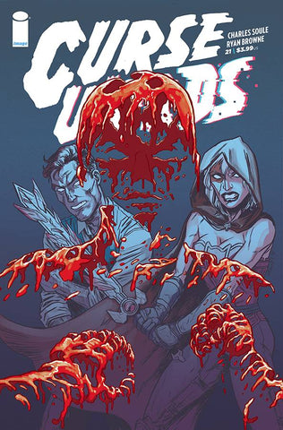 CURSE WORDS #21 CVR A BROWNE (MR) - Packrat Comics