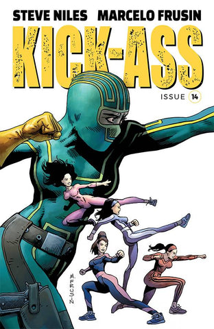 KICK-ASS #14 CVR A FRUSIN (MR) - Packrat Comics