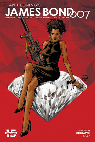 JAMES BOND 007 #7 CVR A JOHNSON - Packrat Comics