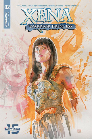 XENA WARRIOR PRINCESS #2 CVR A MACK - Packrat Comics
