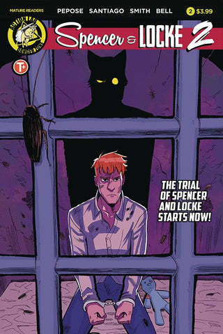 SPENCER AND LOCKE 2 #2 CVR A SANTIAGO - Packrat Comics
