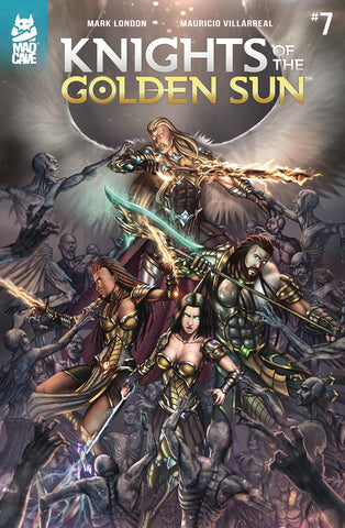 KNIGHTS OF THE GOLDEN SUN #7 (OF 7) - Packrat Comics