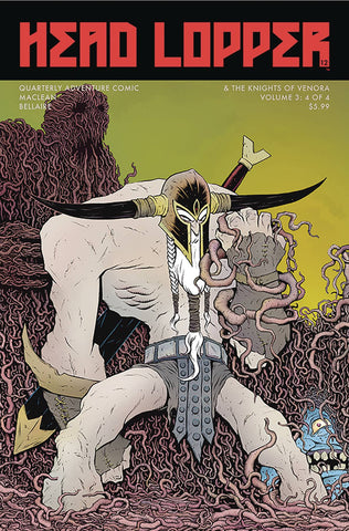 HEAD LOPPER #12 CVR B ALLISON - Packrat Comics