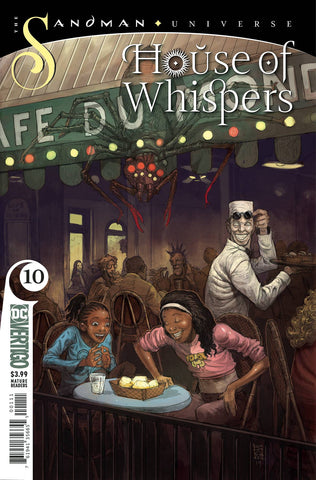 HOUSE OF WHISPERS #10 (MR) - Packrat Comics