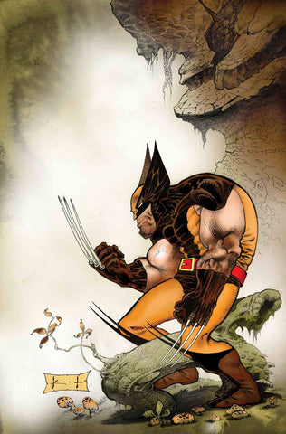 WOLVERINE EXIT WOUNDS #1 KEITH VAR - Packrat Comics
