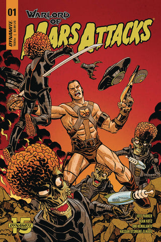 WARLORD OF MARS ATTACKS #1 CVR A JOHNSON - Packrat Comics