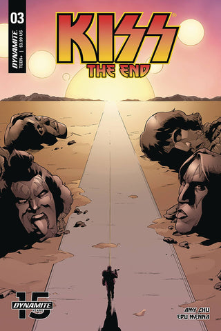 KISS END #3 CVR B COLEMAN - Packrat Comics