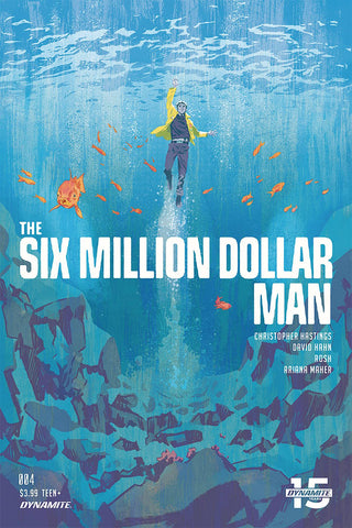 SIX MILLION DOLLAR MAN #4 CVR A WALSH - Packrat Comics