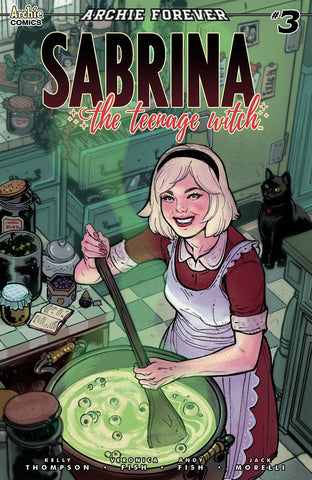 SABRINA TEENAGE WITCH #3 (OF 5) CVR B IBANEZ - Packrat Comics