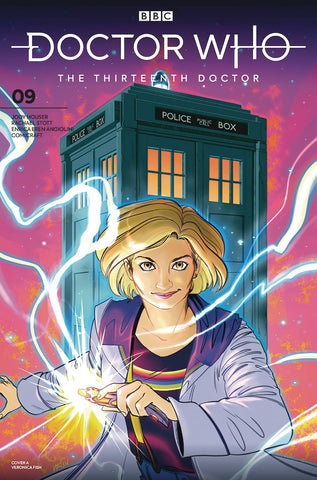DOCTOR WHO 13TH #9 CVR A FISH - Packrat Comics