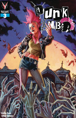 PUNK MAMBO #3 (OF 5) CVR A BRERETON - Packrat Comics