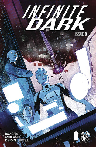 INFINITE DARK #8 - Packrat Comics