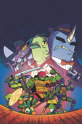 TMNT RISE OF TMNT SOUND OFF #1 (OF 3) CVR A THOMAS - Packrat Comics