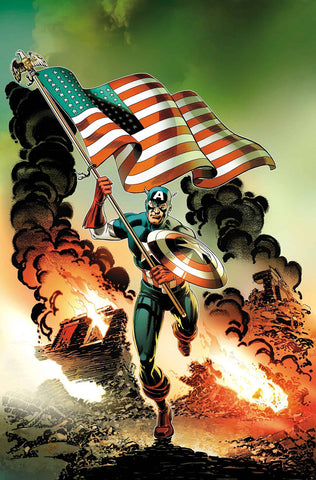 CAPTAIN AMERICA INVADERS BAHAMAS TRIANGLE #1 - Packrat Comics