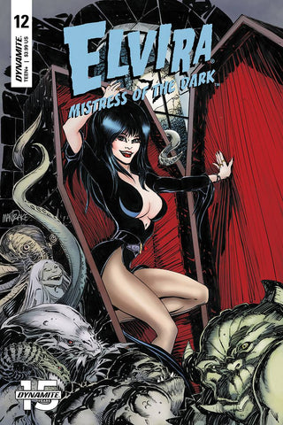 ELVIRA MISTRESS OF DARK #12 CVR A MANDRAKE - Packrat Comics