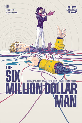 SIX MILLION DOLLAR MAN #5 CVR A WALSH - Packrat Comics