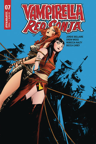 VAMPIRELLA RED SONJA #7 CVR A LEE - Packrat Comics