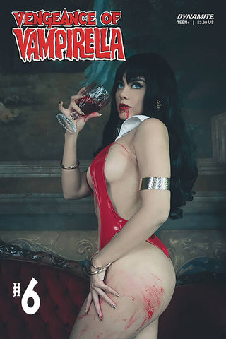 VENGEANCE OF VAMPIRELLA #6 CVR D LORRAINE COSPLAY - Packrat Comics