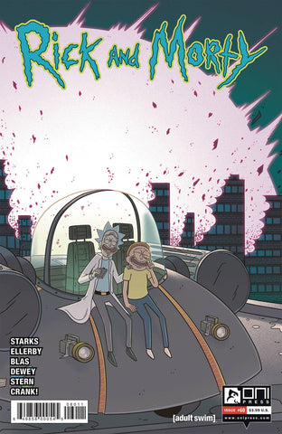 RICK & MORTY #60 CVR A ELLERBY (C: 1-0-0) - Packrat Comics