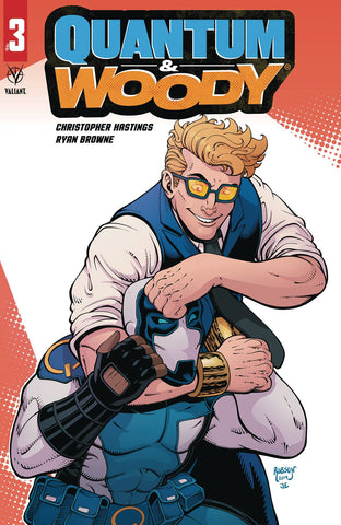 QUANTUM & WOODY (2020) #3 (OF 4) CVR C ROBSON - Packrat Comics