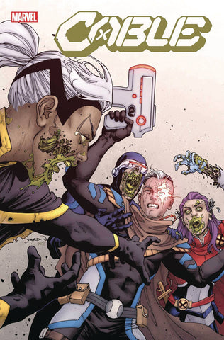 CABLE #2 YARDIN MARVEL ZOMBIES VAR DX - Packrat Comics