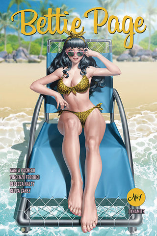 BETTIE PAGE #1 CVR A YOON - Packrat Comics