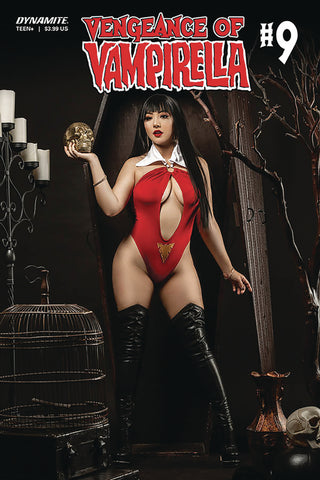 VENGEANCE OF VAMPIRELLA #9 CVR D RAMIREZ COSPLAY - Packrat Comics