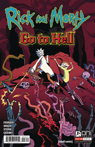 RICK AND MORTY GO TO HELL #3 CVR A OROZA - Packrat Comics