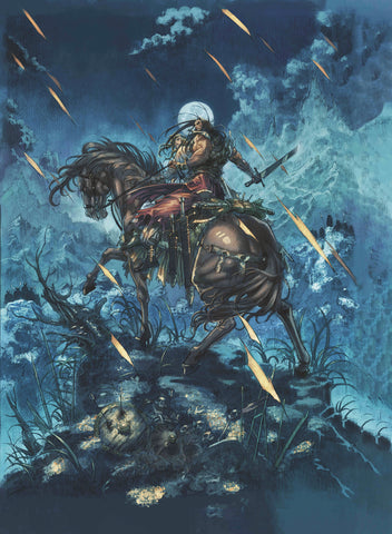 CIMMERIAN PEOPLE OF BLACK CIRCLE #1 CVR A  JAE KWANG PARK (M - Packrat Comics