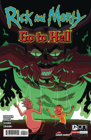 RICK AND MORTY GO TO HELL #4 CVR A OROZA - Packrat Comics
