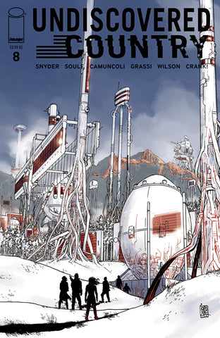 UNDISCOVERED COUNTRY #8 CVR A CAMUNCOLI (MR) - Packrat Comics