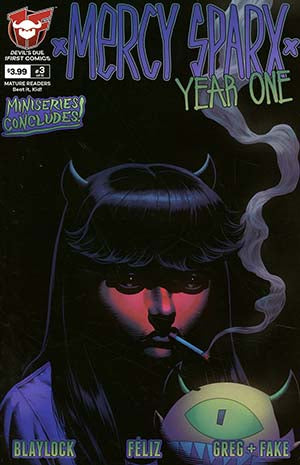 MERCY SPARX YEAR ONE #3 (OF 3) CVR A MERHOFF - Packrat Comics