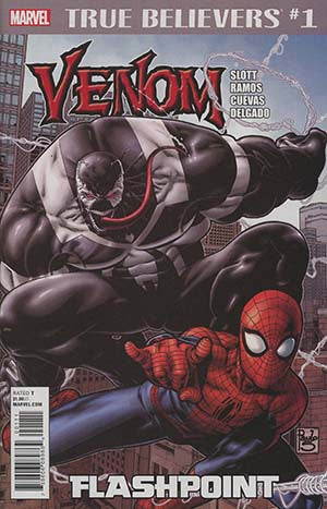TRUE BELIEVERS VENOM FLASHPOINT #1 - Packrat Comics