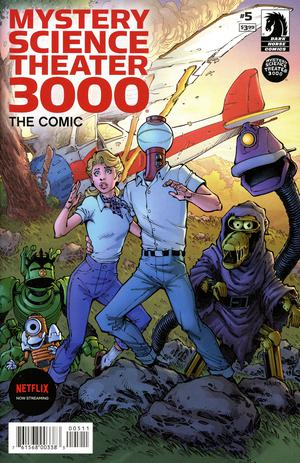 MYSTERY SCIENCE THEATER 3000 #5 CVR A NAUCK - Packrat Comics