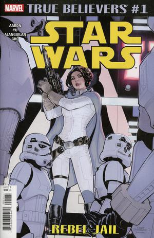 TRUE BELIEVERS STAR WARS REBEL JAIL #1 - Packrat Comics