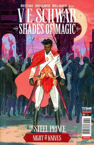 SHADES OF MAGIC #8 CVR A CARANFA - Packrat Comics