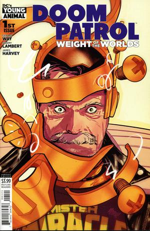 DOOM PATROL THE WEIGHT OF THE WORLDS #1 VARIANT - Packrat Comics