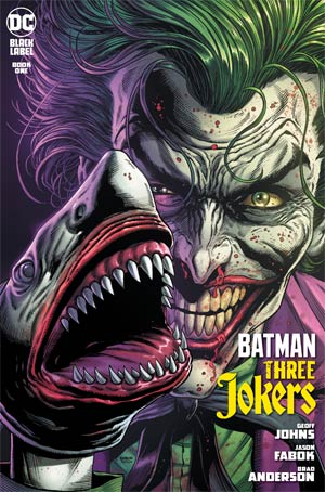 BATMAN THREE JOKERS #1 (OF 3) 2ND PTG - Packrat Comics