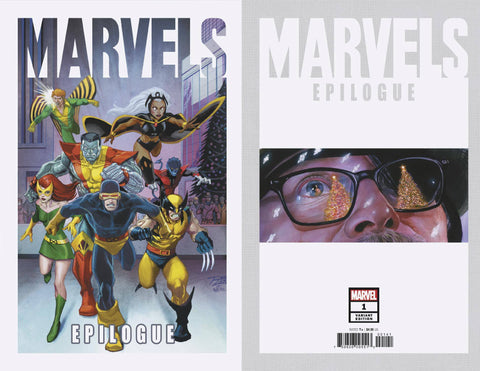 MARVELS EPILOGUE #1 LIM VAR - Packrat Comics