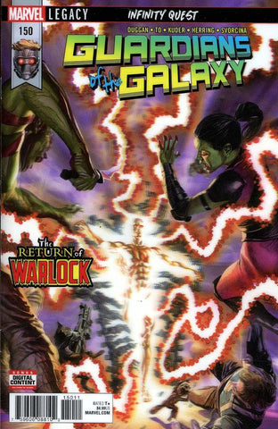 GUARDIANS OF GALAXY LH #150 LEG - Packrat Comics