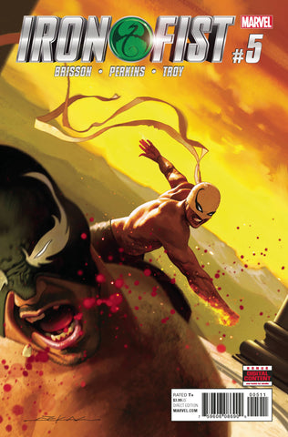 IRON FIST #5 - Packrat Comics