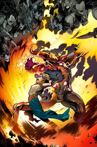 WAR OF REALMS #5 (OF 6) LARRAZ YOUNG GUNS VAR - Packrat Comics