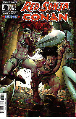 Red Sonja Conan #1 ~ Dynamite/Dark Horse ~ 2015 Baltimore Comic Con