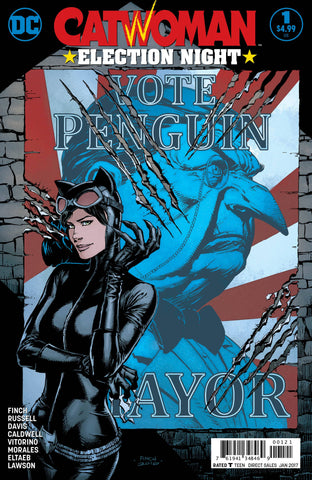 CATWOMAN ELECTION NIGHT #1 VAR ED