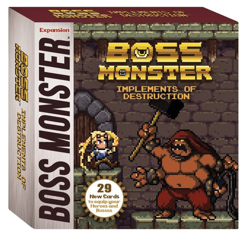 BOSS MONSTER IMPLEMENTS OF DESTRUCTION EXPANSION - Packrat Comics