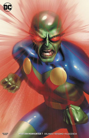 MARTIAN MANHUNTER #7 (OF 12) VAR ED - Packrat Comics