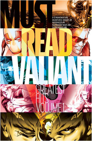 MUST READ VALIANT GREATEST HITS #1 (NET) - Packrat Comics