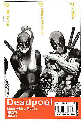 Deadpool Merc with a Mouth 7 1st Lady Deadpool NM  Low Print Run!!!